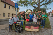 Ständchen bringen in Ettersburg