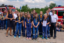 Jugendfeuerwehren aus Thüringen