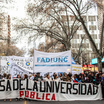 MARCHA FEDERAL EN DEFENSA DE LA UNIVERSIDAD PÚBLICA - MENDOZA (30/08/18)