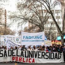 MARCHA FEDERAL EN DEFENSA DE LA UNIVERSIDAD PÚBLICA - MENDOZA (30/08/18)