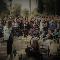 """""""ASAMBLEA DE TODOS LOS CLAUSTROS EN ENTRADA AL CAMPUS (07-08-18)"""