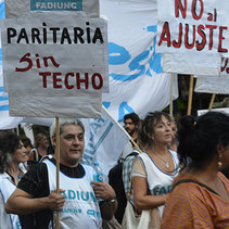 Marcha 21F: FADIUNC le dijo ¡NO al Ajuste! (21/02/18)