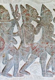 Paire de hautbois avec pirouette. Angkor Vat. XVIe s.