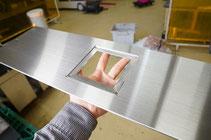 薄板 マシニング加工