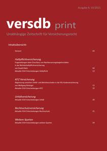 versdb print - Unabhängige Zeitschrift für Versicherungsrecht