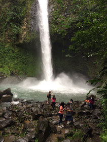 Rio Fortuna Waterfall