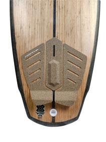 Surfboard Ecoboard Riverboard Riversurfing Surfbrett nachhaltiges Surfbrett tractionpad ecopad corkpad surfpad surfboardpad tailpad