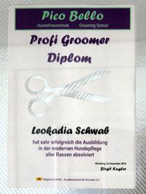 Leokadia Schwab Hundestylistin