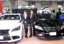 東京オートサロン2013 幕張メッセ LX-MODE イベントブースコンパニオン3