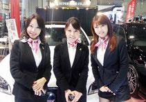 東京オートサロン2013 幕張メッセ LX-MODE イベントブースコンパニオン2