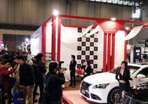 東京オートサロン2013 幕張メッセ LX-MODE イベントブースコンパニオン1