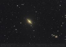 M 104  - Sombrero- Galaxie