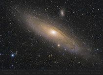 M 31 - 420mm , Andomedagalaxie