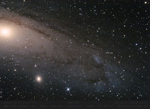 M 31 Andromedagalaxie , NGC 206