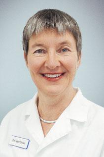 Ihre Dermatologin Dr. med. Helga Rochow freut sich auf Ihren Besuch in der Spandauer Hautarztpraxis.