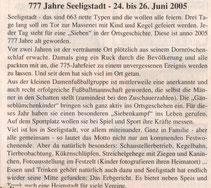 Bild: Seeligstadt Dorffest 2005