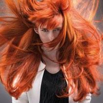Bild: Model Eva Haarverlängerung
