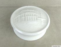 Porzellankonfektschale mit Stadtansicht Alte Oper Frankfurt, € 59,00