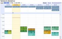 ... der Terminkalender