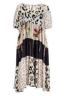 Sommerkleid mit Unterkleid aus Viskose