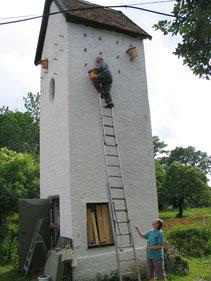 Ehemaliges Trafohaus in Mooseurach, Foto: Markku Arends