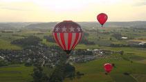 Der Landkreis Bayreuth aus der Luft