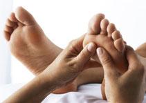 Réflexologie plantaire points d'acupuncture méridiens zones réflexes organes du corps, détente, stress, détoxination, détox, drainage, nervosité, poids, surpoids, obésité, sommeil