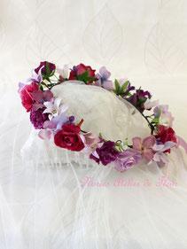 Rosy ロージー 花かんむり