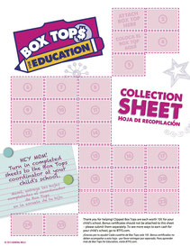 Collection Sheet - 25