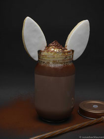 Kakao mit Hasenohren
