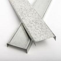 Perfil galvanizado cal. 26 de 6.35 cm de ancho
