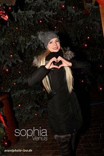 Sophia Venus / Weihnachtsmarkt / Schlager / eventphoto-leo.de