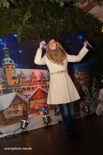 Daniella Rossini / Schlager / Weihnachtsmarkt Leipzig / eventphoto-leo