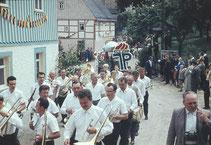 Bild: Teichler Blaskapelle Wünschendorf Erzgebirge 1977