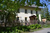 Bild: Teichler Rotes Haus Wünschendorf Erzgebirge2016