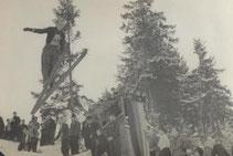 Bild: Teichler Wünschendorf Erzgebirge 1955