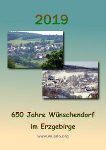Bild: Wünschendorf Erzgebirge Kalender 2019