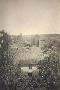 Bild: Teichler Wünschendorf Rittergut Abriß
