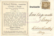 Bild: Teichler Wünschendorf Krauß Wasser 1926