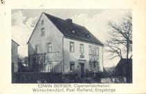 Bild: Wünschendorf Erzgebirge Berger Zigarrenproduktion
