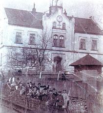 Bild: Teichler Blaskapelle Wünschendorf 1890