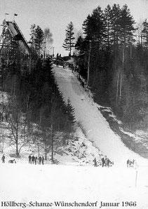 Bild: Wünschendorf Höllbergschanze 1966