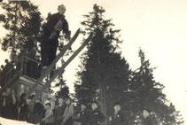 Bild: Höllbergschanze Wünschendorf 1956