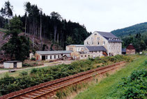 Bild: Vogelmühle Wünschendorf Sturm 2001