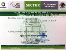 Registro SECTUR