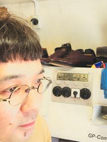 shoerepairViragon 靴修理ヴァラゴン : 店主