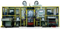 U-Jin Tech Corporations CNC 8DF Doppelspindel-Reibschweißzelle mit 8 t Kraft