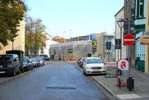 Parkhaus | Ansicht Hussitenstraße