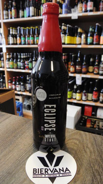 FiftyFifty Eclipse Imperial Stout 2013 Red Wax (Four Roses Bourbon Cask Barrel Aged)