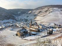 Mayschoß im Schnee